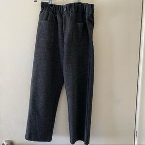 EUC Zara Girls Dark Gray Straight Leg Pant 8years